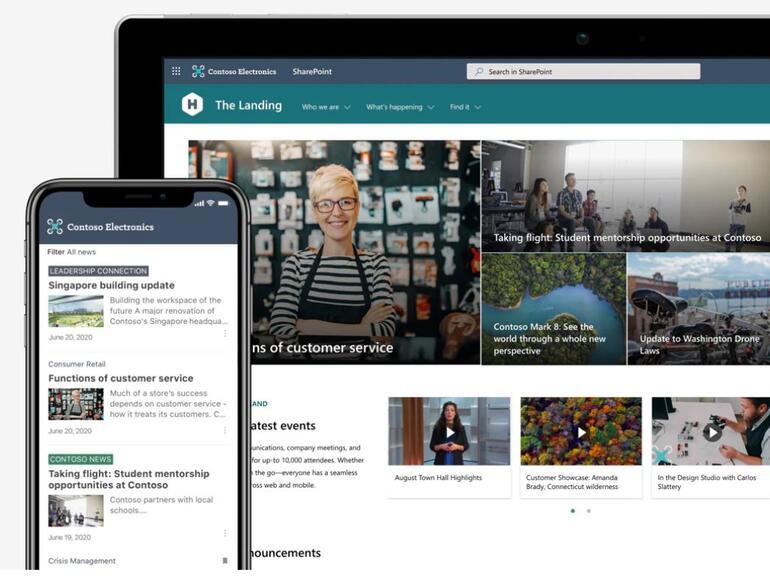 Microsoft memulakan pratonton umum versi SharePoint seterusnya untuk penggunaan di premis
