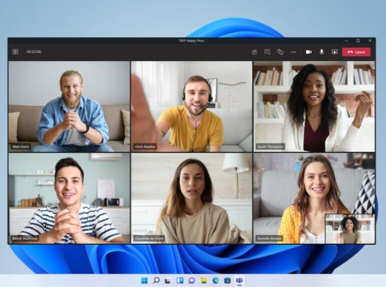 Microsoft mula menguji integrasi Pasukan dengan Windows 11