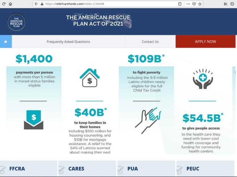 Syarikat keselamatan siber memberi amaran mengenai penipuan American Rescue Plan Act sebagai pembayaran kredit cukai anak IRS pertama yang dikeluarkan