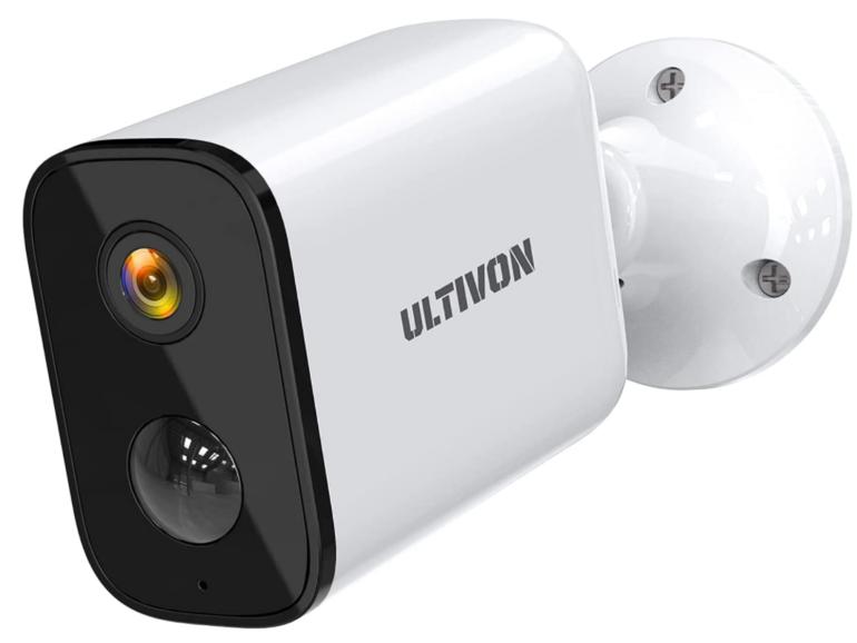 Ulasan Ultivon E100: Kamera pengawasan berkuasa bateri dengan pengesanan gerakan dan Kajian penggera